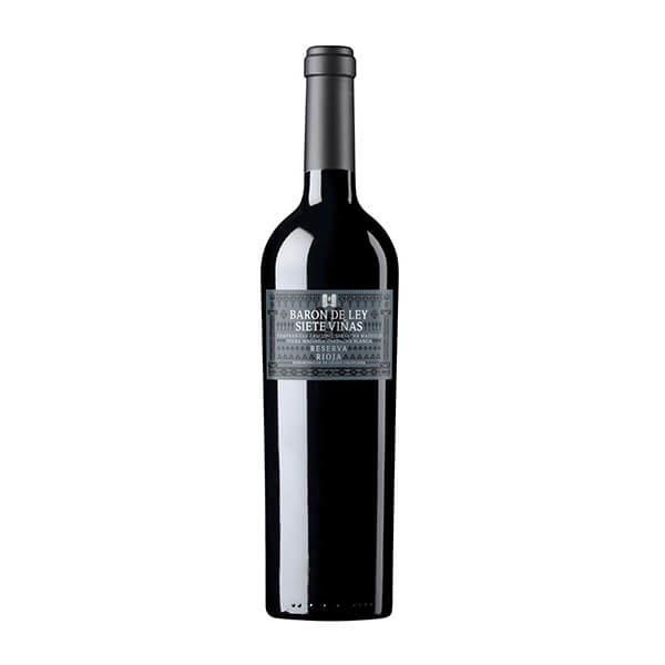 Reserva Baron de Ley Siete Viñas 2007 rouge