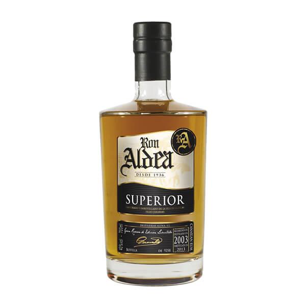 """Rhum """"Aldea"""" Superior 10 ans vieillissement millésime 2003"""