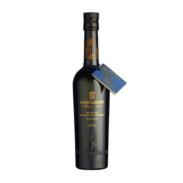 Huile d'olive V. E. ''Marqués de Griñon'', Arbequina-Picual-Cornicabra, max.0,2°d'acid., 500 ml