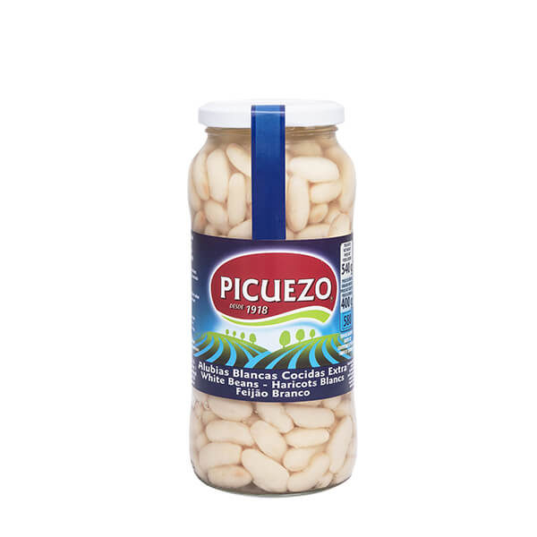 """Bocal de haricots blancs au naturel """"El Picuezo"""" 540 g"""