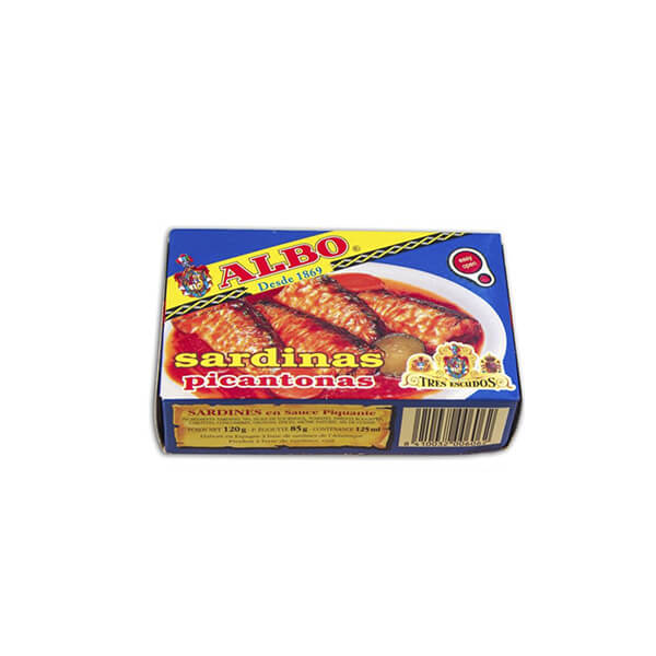 """Sardines sauce piquante """"Albo"""" 120g"""